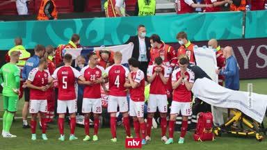 Nach Eriksen-Drama: Dänemark zurück im Turnier-Modus