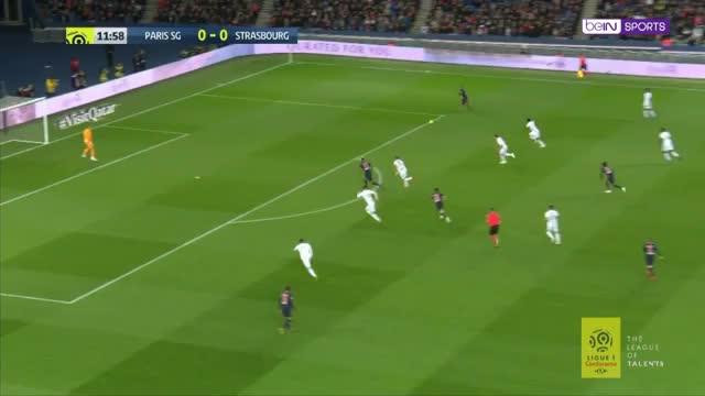 PSG - Strasbourg: Die Highlights