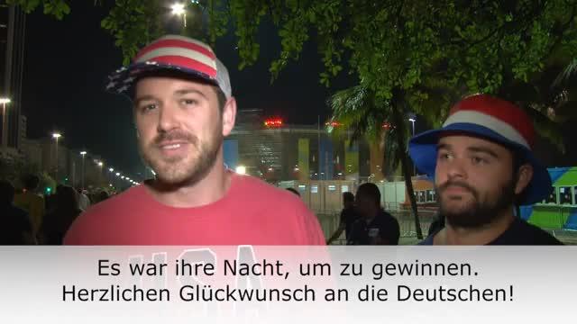 Beachvolleyball: Fans feiern deutsches Gold-Duo