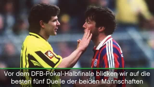 Bayern gegen Dortmund! Die fünf besten Duelle