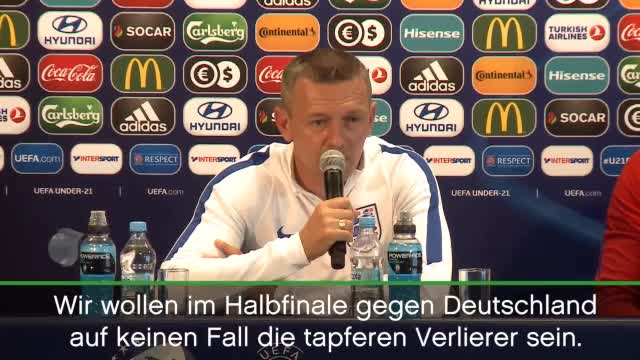 """U21: Boothroyd: """"Wurden oft genug vorgeführt"""""""