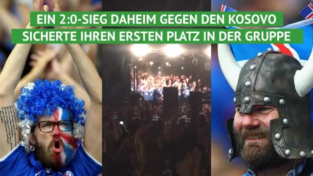 Huh! Island fährt erstmals zur WM
