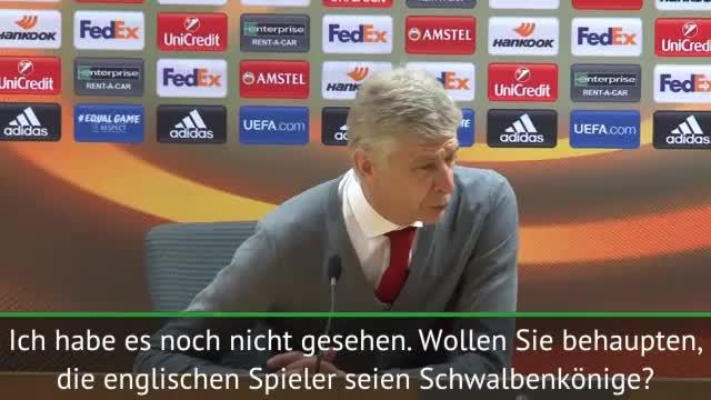 Wenger will Welbeck-Schwalbe ehrlich beurteilen