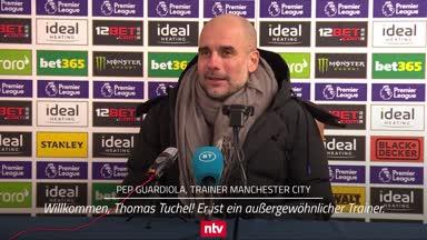 Guardiola freut sich auf Tuchel