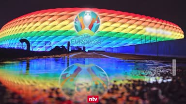 """""""Katastrophe"""": Fans zum UEFA-Regenbogen-Verbot"""