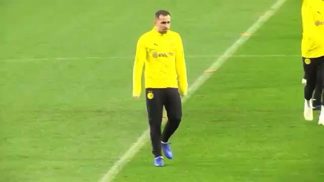 Alcacer, Götze und Co.: BVB-Training im Wanda