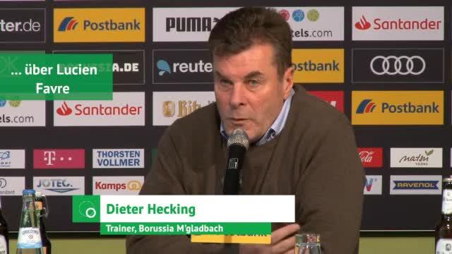Hecking über Favres BVB, Euphorie und Personal