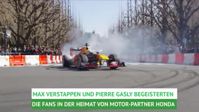 F1: Tokio-Drift mit Verstappen und Gasly