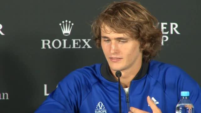 Zverev schwärmt von Federer und Nadal