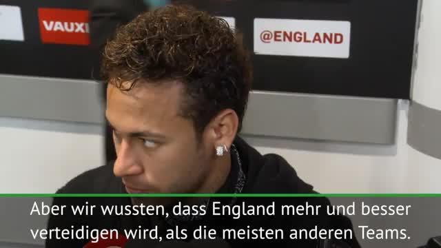 Brasilien: Neymar zufrieden trotz Nullnummer