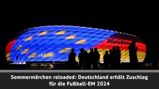 Breaking: Deutschland holt Fußball-EM 2024