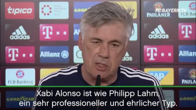 """Ancelotti über Alonso: """"Ein Typ wie Lahm"""""""
