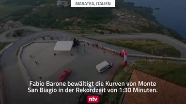 Speed-Star erobert die Kurven von Monte San Biagio