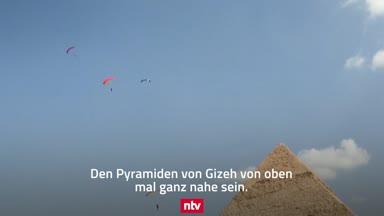 Skydiving bei den Pyramiden