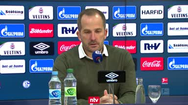 So bewertet Schalke-Coach Baum den ersten Punkt der Saison
