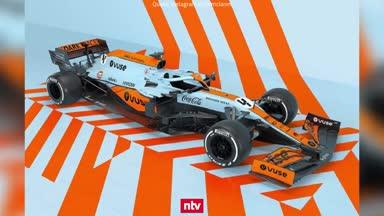 McLaren mit kultiger Retro-Lackierung in Monaco
