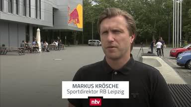 """Leipzigs Krösche zur CL-Auslosung: """"Zwei Siege zum Finale"""""""
