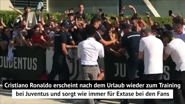 Ronaldo-Rückkehr sorgt für Extase bei Juve-Fans