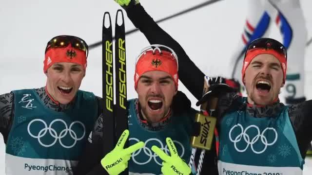 Olympia: Deutscher Dreifach-Sieg in Kombi