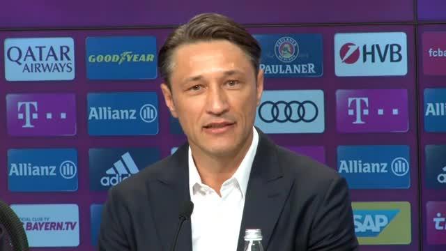 Niko Kovacs erste Worte als Bayern-Trainer