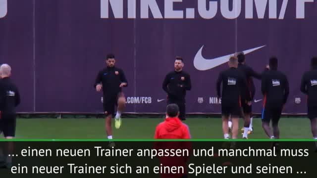 Valverde: Messi zu trainieren ist einzigartig