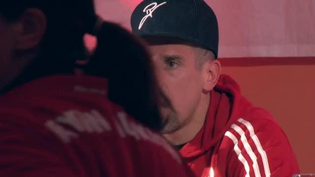 """Ribery hat Spaß mit """"nervösem"""" Fan"""