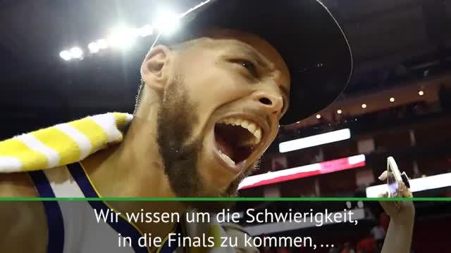 Vor NBA Finals: Das sagen Durant, Curry und Co.
