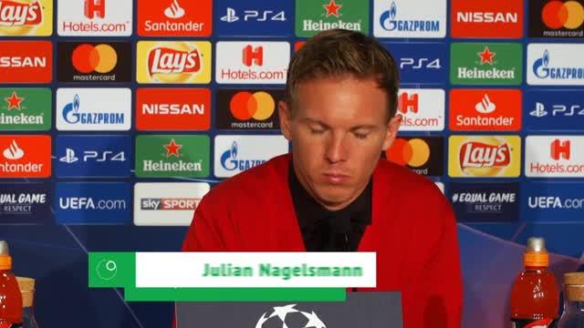 """Nagelsmann: Zweite Halbzeit """"außergewöhnlich"""""""