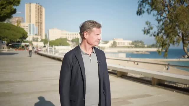 Unterwegs mit Laureus-Botschafter Coulthard