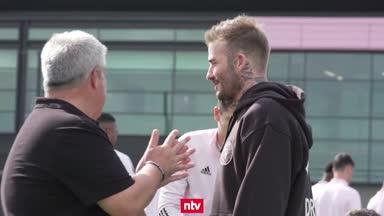 """""""Sturer"""" Beckham erfüllt sich seinen Traum"""