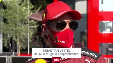 Vettel kommentiert sein Quali-Desaster
