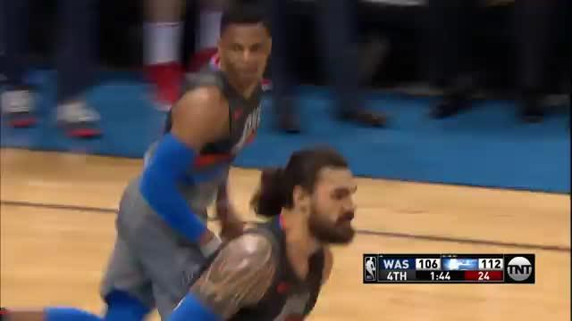 Westbrook verzaubert Wizards mit 46 Punkten