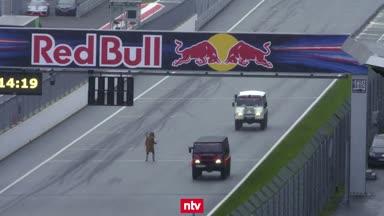 Formel-1-Stars machen irre Schnitzeljagd