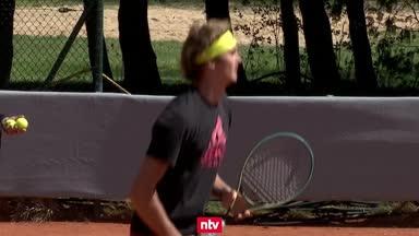 Exklusiv: So tippt Alexander Zverev das Deutschland-Spiel
