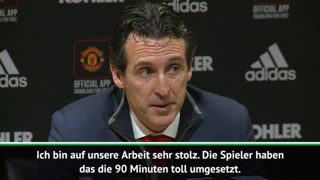 """Emery: """"Waren näher am dritten Tor als United"""""""
