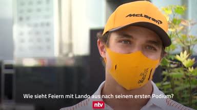 """Keine Podest-Party mit Lando Norris: """"Ich war müde"""""""