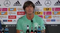 """FOOTBALL: DFB-Team: Löw vor Frankreich: """"Man spürt Aufbruchstimmung"""""""