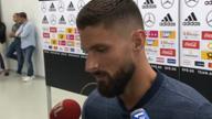 """Giroud nach DFB-Remis: """"Hartes Spiel erwartet"""""""