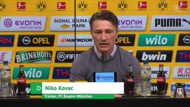 """Kovac zu Neuer-Elfmeter: """"Darf nicht passieren"""""""