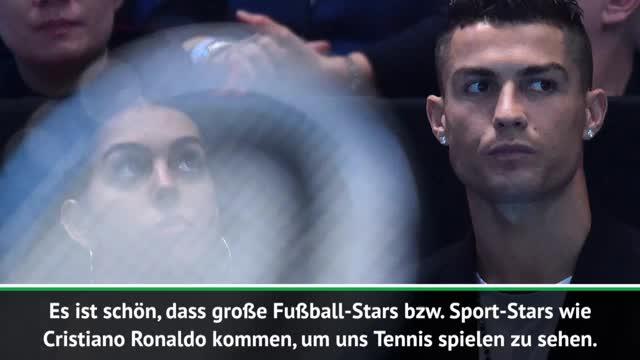 ATP-Finals: Djokovic freut sich über CR7-Besuch