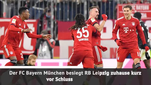 Fast Match Report: FC Bayern - RB Leipzig