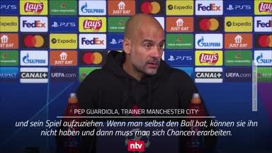 """Guardiola: Gegen Messi und Co. kannst du nur """"beten"""""""