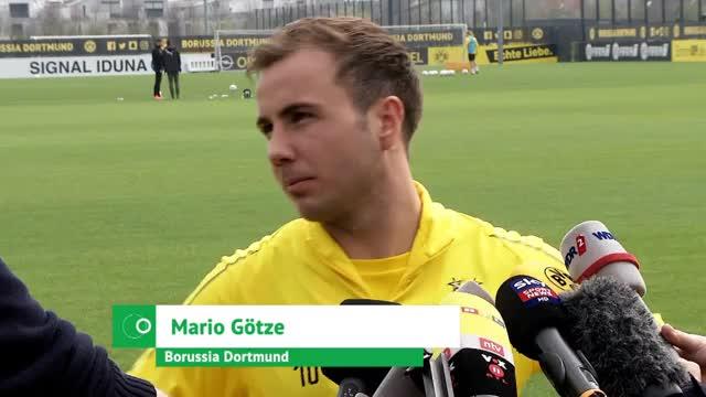 """Götze selbstbewusst vor FCB: """"Man will mehr"""""""
