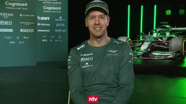 Vettel nach der Aston-Martin-Enthüllung im Interview