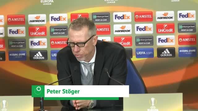 "Stöger enttäuscht: ""Wollten dominant auftreten"""