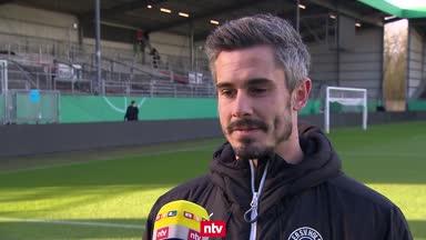 """Kiel will gegen Bayern """"nicht ehrfürchtig"""" sein"""