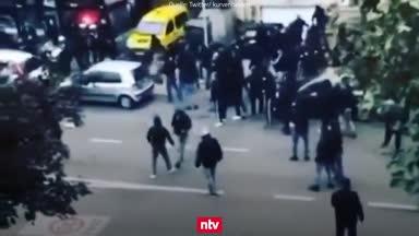 EL-Eklat: Frankfurt-Fans stürmen Bar, Royal-Anhänger eskalieren