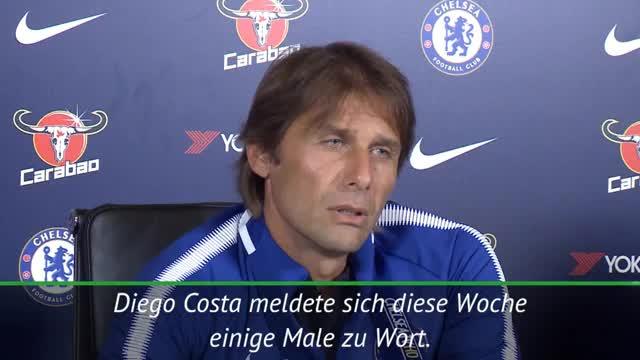 Diego Costa? Conte lacht sich schlapp