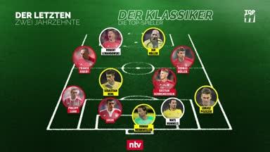 BVB vs. Bayern: Das ist die Top-Elf der letzten zwei Jahrzehnte