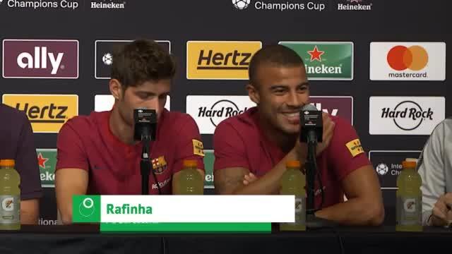 Rafinha über Barca-Zukunft